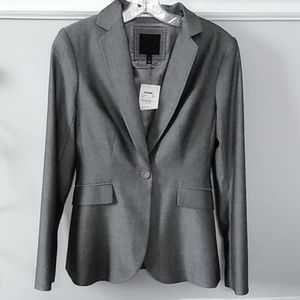 NWT The Limited jacket one bottom size 2 gray